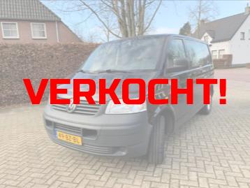 VW Transporter Zwart Image